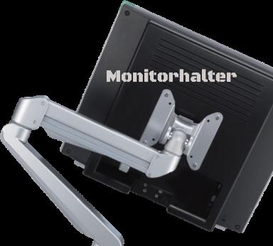Monitorschwenkarm, Monitorhalter, Bildschirmschwenkarm verstellbar, Monitorarm verstellbar, Monitorhalter dreidimensional verstellbar