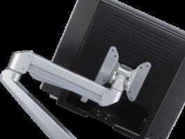 Bildschirmarm, Monitorhalter, Bildschirmhalterung, PC-Halter Schreibtisch, Monitorhalter Schreibtisch, Bildschirmschwenkarm Schreibtisch