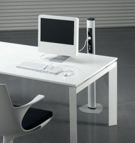 Energiesäule Büro, Elektrosäule Büro, Kabelanschluss Säule, Kabelführung Säule Büro, Steckdosensäule Schreibtisch, Kabelführung Schreibtisch