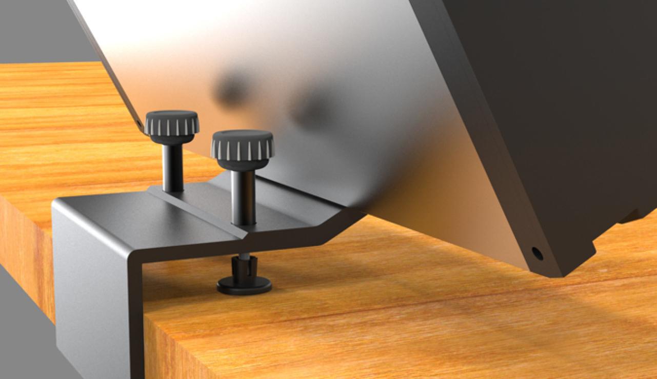Schreibtisch Steckdosenleiste, aufsteckbare Steckdosenleiste Schreibtisch, Steckdosenleiste anschrauben,