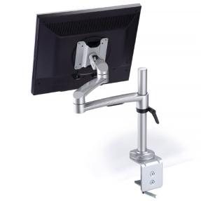 Monitorhalter höhenverstellbar, Bildschirmhalter VESA, Bildschirmschwenkarm Tischbefestigung
