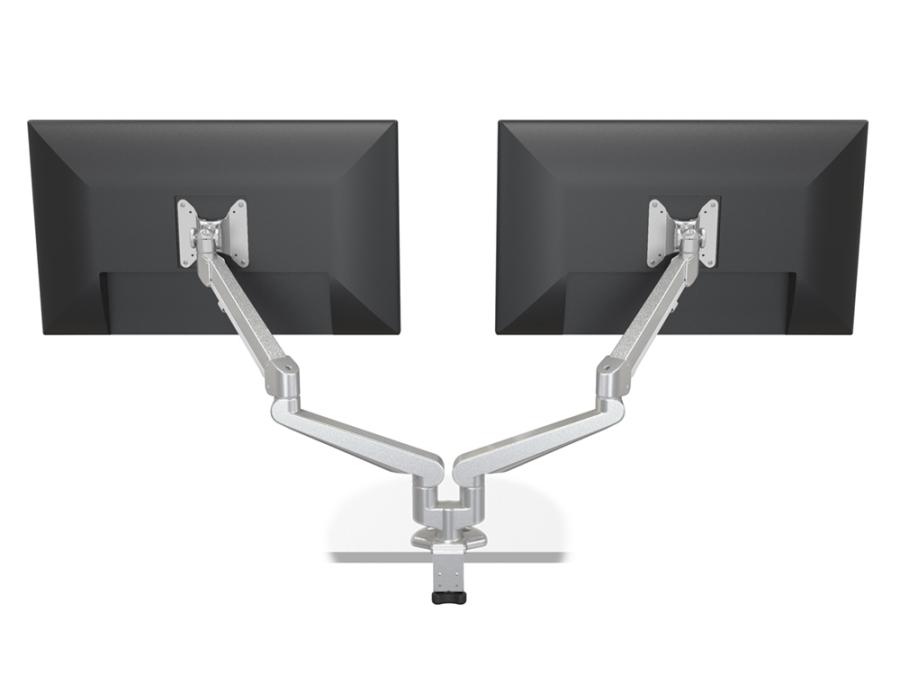 Doppelmonitorarm, zweifach Bildschirmarm, doppelter Monitorschwenkarm, Monitorarm für zwei Bildschirme
